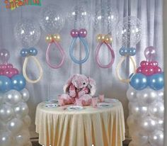 "For a baby shower. But please, update the colors don't use these! lol Use the ""theme"" colors."