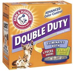 20LB DBLDuty Cat Litter Pack of 2 >>> Check this awesome product by going to the link at the image.-It is an affiliate link to Amazon. #CatLitter
