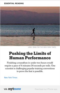 NYT Now: Man vs. Marathon  http://nyti.ms/1Oi2zd7