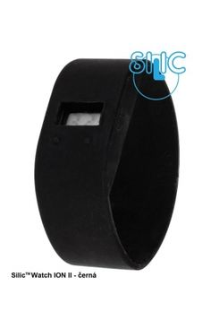 Silic Watch ION II - černá Ergonomic Mouse, Computer Mouse, Watches, Pc Mouse, Clocks, Clock, Mice
