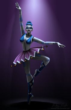 FNaF SL: Ballora by BritneyPringle.deviantart.com on @DeviantArt