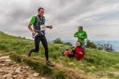 Ultramarathon - 80 and 100km runs, 'Bieg Rzeźnika' - The Butcher Race 2012 in Bieszczady mountains. This point is about 60 km from start.