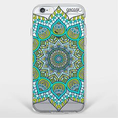 Custom Green Mandala Phone Case