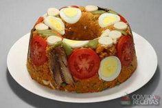 Receita de Cuscuz de sardinha tradicional - Comida e Receitas