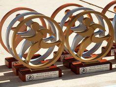 """Trofeo personalizado cursa de muntanya """"Font de vida"""""""