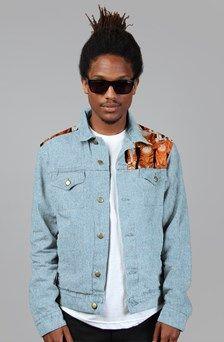 Apliiq.com presents the  denim jacket $106.00