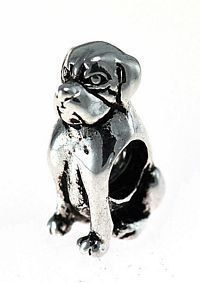 bulldog dog charm bead for jewelry sterling silver 925 Real Sterling silver 925 pendant Charm jewelryLike this item find it at https://www.etsy.com/shop/princeofdiamonds