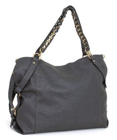 Loving this Rebecca  amp  Rifka Gray Slouchy Tote on  zulily!  zulilyfinds  Edgy c84083f188295