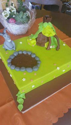 Shrek kake