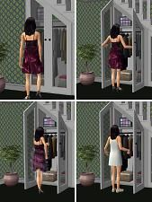 Mod The Sims - Under-The-Stairs Storage Set -Part 2 The Sims 2, Sims 1, Sims 4 Pets, Sims House Design, Play Sims, Sims Games, Storage Sets, Stair Storage, Sims Mods