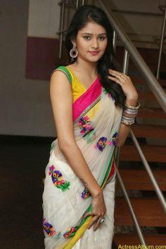 Telugu Actress Khushi hot saree stills - Actress Album Beautiful Girl Indian, Beautiful Girl Image, Beautiful Saree, South Indian Actress Hot, Saree Photoshoot, Indian Beauty Saree, Lingerie, Saree Styles, Indian Designer Wear