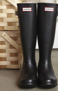 Hunter wellies. I can justify spending that much on rubber boots for Ireland...I mean, the farm, right? Farm expense?
