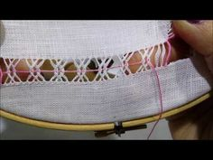 Hand Embroidery and Its Types - Embroidery Patterns Hand Embroidery Tutorial, Hand Embroidery Patterns, Embroidery Stitches, Hardanger Embroidery, Learn Embroidery, Hem Stitch, Cross Stitch, Sweet Bags, Drawn Thread