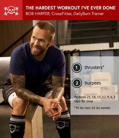 Bob Harper: The Hardest CrossFit Workout I've Ever Done
