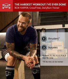 Bob Harper: The Hardest CrossFit Workout I've Ever Done
