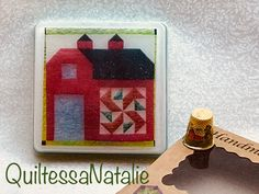 """Handmade soap, """"Quilt collection"""", Red Barn with quilt block on it Ironing Pad, Bead Organization, Star Quilt Blocks, Knitting Supplies, Craft Bags, Cute Little Things, Red Barns, Fabric Strips, Practical Gifts"""