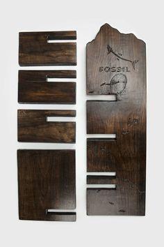 Fossil Sunglasses Display - Julie Finn