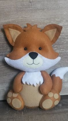 Fox Crafts, Animal Crafts, Felt Animal Patterns, Stuffed Animal Patterns, Disney Babys, Felt Fox, Felt Decorations, Felt Christmas Ornaments, Baby Kind