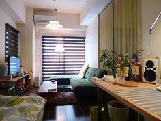 アダルトな雰囲気のあるお部屋! : 模様替えするぞー!激しく参考になるリアルな一人暮らしのお部屋を集めました!(*´ω`*) - NAVER まとめ