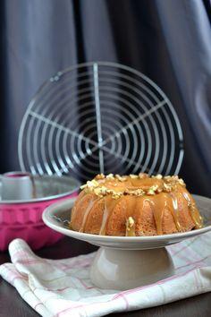 Gateau aux noix et caramel - Bundt cake