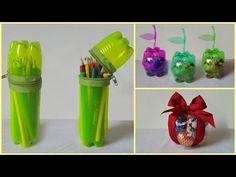 10 DIY Creative Ways to Reuse / Recycle Plastic Bottles part 1 by Nicol & Alexis on YouTube
