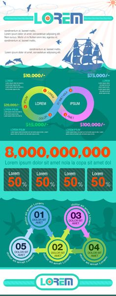 Infographics Template Collection – 105 Infographic Templates and of Element… - Dyreriget Infographic Templates, Psd Templates, Design Templates, How To Create Infographics, Infographics Design, Presentation Layout, Information Design, Publication Design, User Interface Design