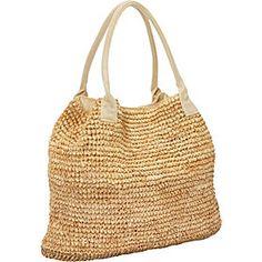 Straw Handbags and Purses - eBags.com  -  Betmar New York - Raffia Tote - FashionFilmsNYC.com