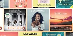 The 20 most popular audiobooks of CosmopolitanUK Book Club Books, Good Books, Best Audible Books, Best Audiobooks, Fantasy Authors, Best Authors, Books 2018, Most Popular, Michelle Obama