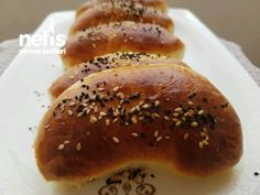 Recipe Labraged Pastry with Roast - Video - Yemek tarifleri - Turkish Food Categories, Pastry Recipes, Turkish Recipes, Homemade Beauty Products, Bagel, Yummy Food, Delicious Recipes, Roast, Bread