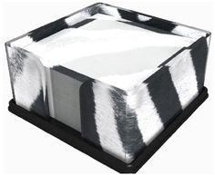 Got Yo Gifts Zebra Print Note Holder:Amazon:Pet Supplies