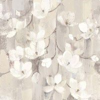 Metaverse Art Magnolias in Spring II Neutral Canvas Wall Art, Grey, Neutral Canvas Art, Spring Art, Canvas Artwork, Canvas Paintings, Furniture For Small Spaces, Artist Names, Box Frames, Gray Background, Online Art Gallery