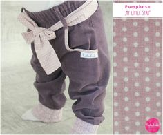 Süße Pumphose für Kinder, Kinderkleidung / children's waer, little trouser by Lubukidz Manufaktur via DaWanda.com