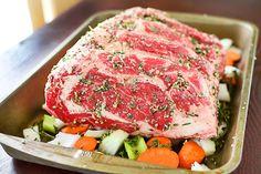 Rosemary Crusted Prime Rib Roast. Ingredients: prime rib beef roast ...