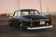 Stance Works - Keith Ross's Slammed 1966 Volvo Amazon 122