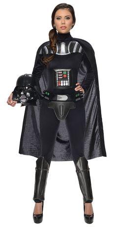 Darth Vader Ladies Star Wars Costume.