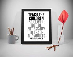 Teach Printable Quotes Abraham Lincoln Sayings School Print