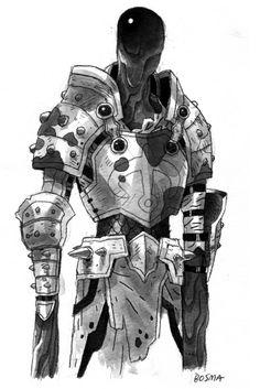 """""""Sludge Knight,"""" by Sam Bosma"""