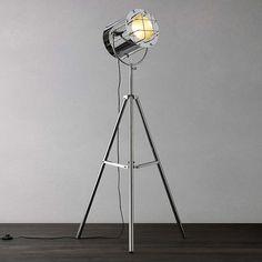 BuyJohn Lewis Studio Chrome Floor Light Online at johnlewis.com