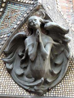 ROCHE, Pierre (1855-1922) - Ange, Église Saint-Evangéliste, Paris.