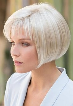 We Offer Short Grey Bob Wig with Fringe Synthetic Hair With Lowest Price, All Style Wigs Save Up To Off. Short Hair Cuts, Short Hair Styles, Bob With Bangs, Wavy Bob Hairstyles, Natural Hairstyles, Long Haircuts, Simple Hairstyles, Pretty Hairstyles, Short Wigs