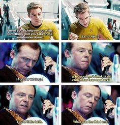 Star Trek Into Darkness | Kirk & Scotty