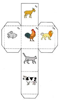 Recursos para Docentes: Story cubes y formación de frases Story Cubes, Preschool Learning Activities, Infant Activities, Farm Animals Games, Body Parts Preschool, Free Worksheets For Kids, Preschool Letters, Activity Sheets, Teaching Materials