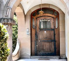 Myst-style door!