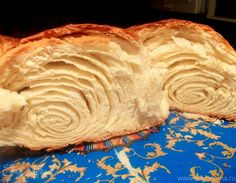 "Пирог ""Флуто"" Braided Bread, Bread Bun, Chef Recipes, Sweet Recipes, Cooking Recipes, Bulgarian Recipes, Russian Recipes, Just Desserts, Delicious Desserts"
