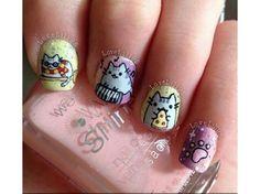 manicure a tema gatto