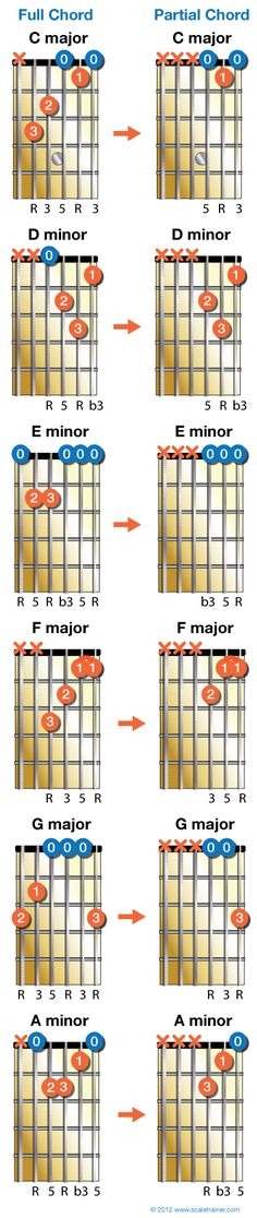 Bite Sized Chords - Global Guitar NetworkGlobal Guitar Network