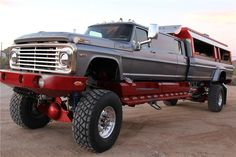 1972 FORD F-600 CUSTOM CREW CAB PICKUP LIMO