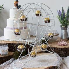 Cupcake Riesenrad für Candy Bar