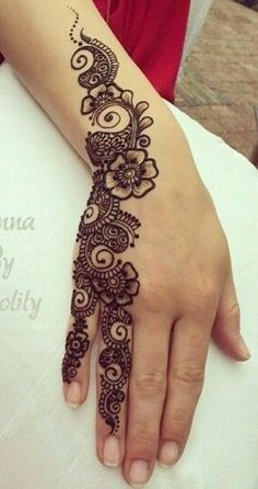 Best Floral Mehndi Designs