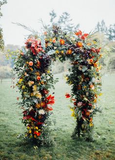 So boho chic fall wedding ceremony arch with floral and greenery decorations, create a woodland outdoor wedding or organic garden wedding theme. Bohemian Wedding Inspiration, Boho Wedding, Floral Wedding, Bohemian Wedding Flowers, Garden Wedding, Botanical Wedding Theme, Bohemian Weddings, Wedding Colours, Rustic Wedding